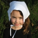 How to: Make a Little Girl's Pilgrim Hat