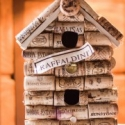 Upcycled Wine Cork Birdhouse