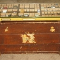 Make a Coffee Table From Antique Printer Drawer