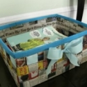 How To: Make an Upcycled Newspaper Basket