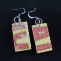 Upcycled Skateboard Earrings