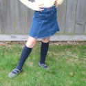 How To: Upcycle a Pair of Jeans into a Skirt