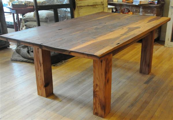 We Love This Farm Table It Looks So Sy And Durable Very Diffe From All Of The Particle Board Laminate Tables That You See In Most Furniture