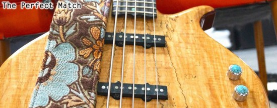 """True Vintage"" Upcycle Guitar & Ukelele Straps"