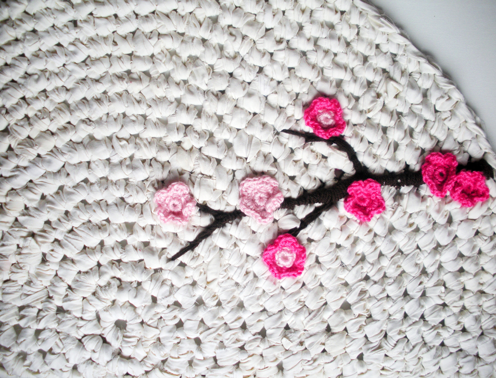Crocheting How To : How To: Make An Upcycled Crochet Rug - Upcycle Magazine